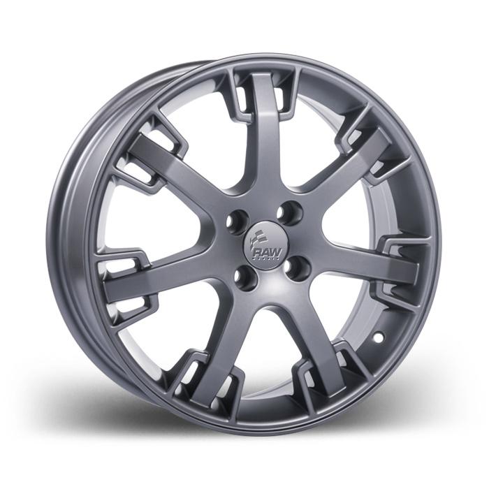 """RAW réplica da roda usada pela Maserati com aro 17"""" e tala 6,5"""". Clique na imagem para saber mais detalhes"""