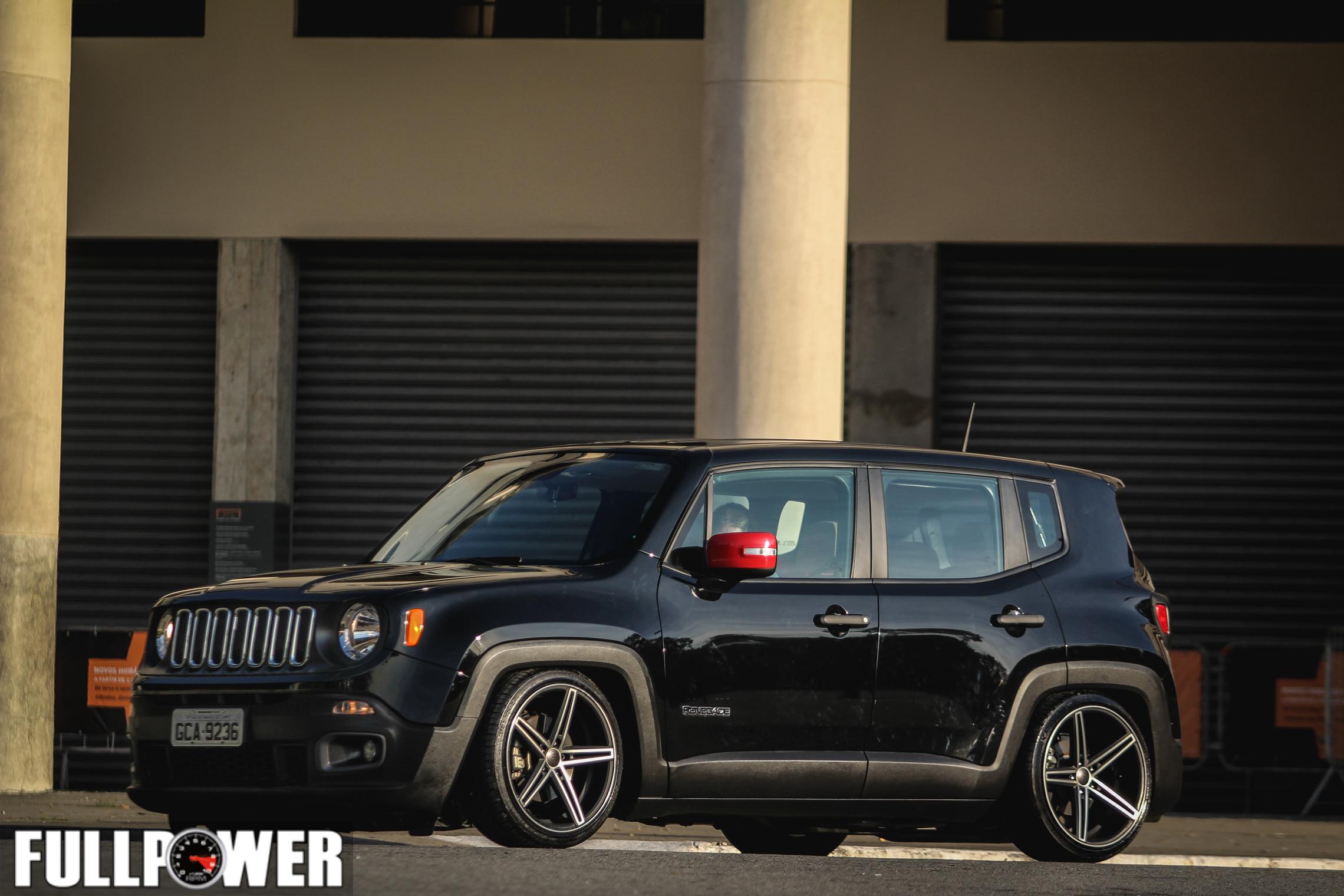 Jeep Renegade perde o visual alto, ganha suspensão baixa e ...