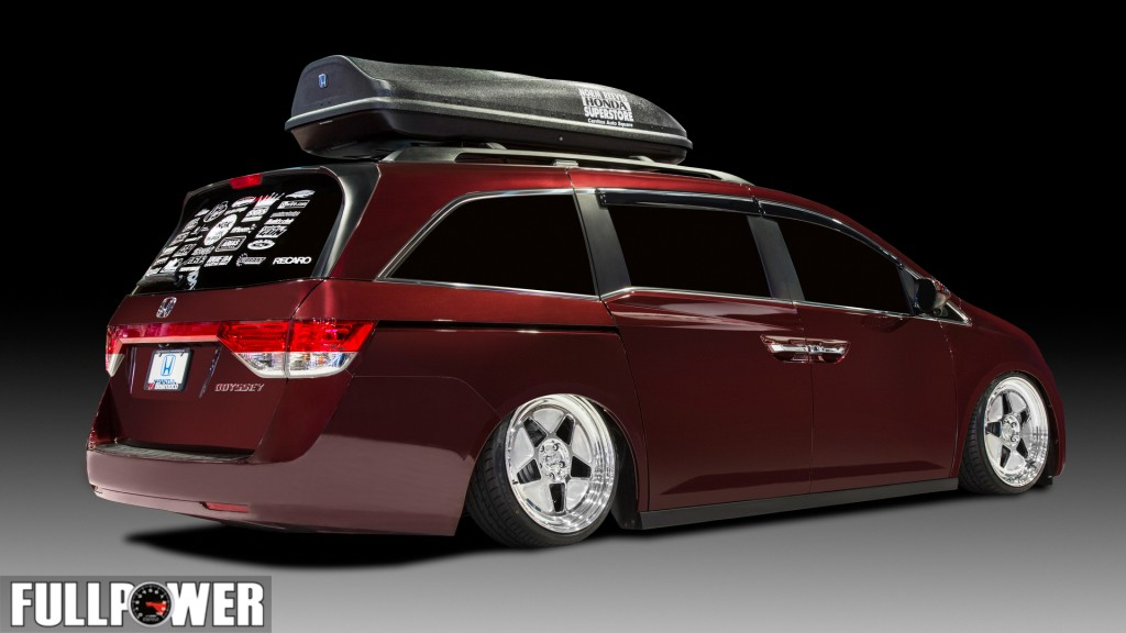 Bisimoto Engineering 2014 Odyssey Project.