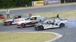 Trio no arregaço: Drift Fight